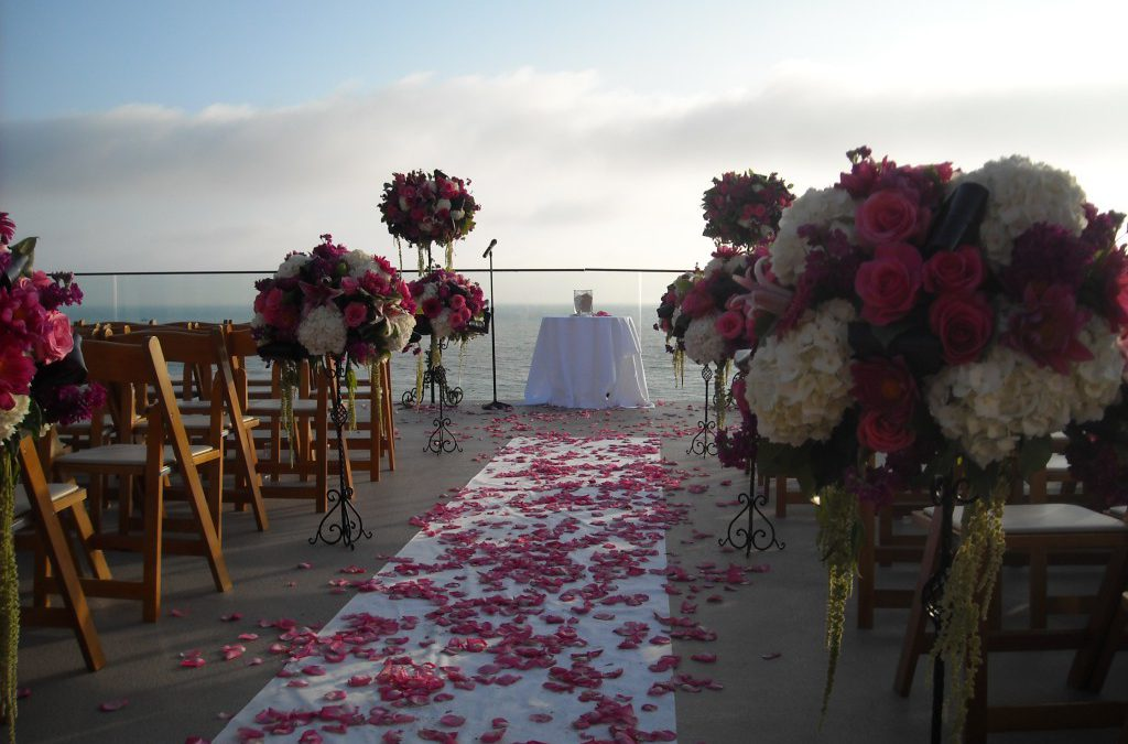 Noelle & Michael's Pink Oasis Beach-side Wedding…