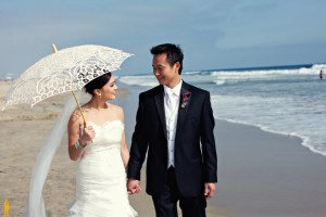 Stella & Brian's Magical Beach-side Wedding…