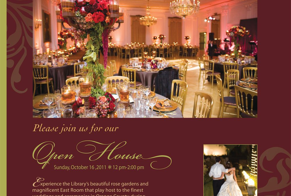 Nixon Library's Bridal Open House!!!