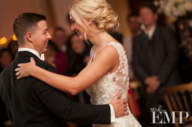 Catherine & Chris' Timeless Glam Wedding
