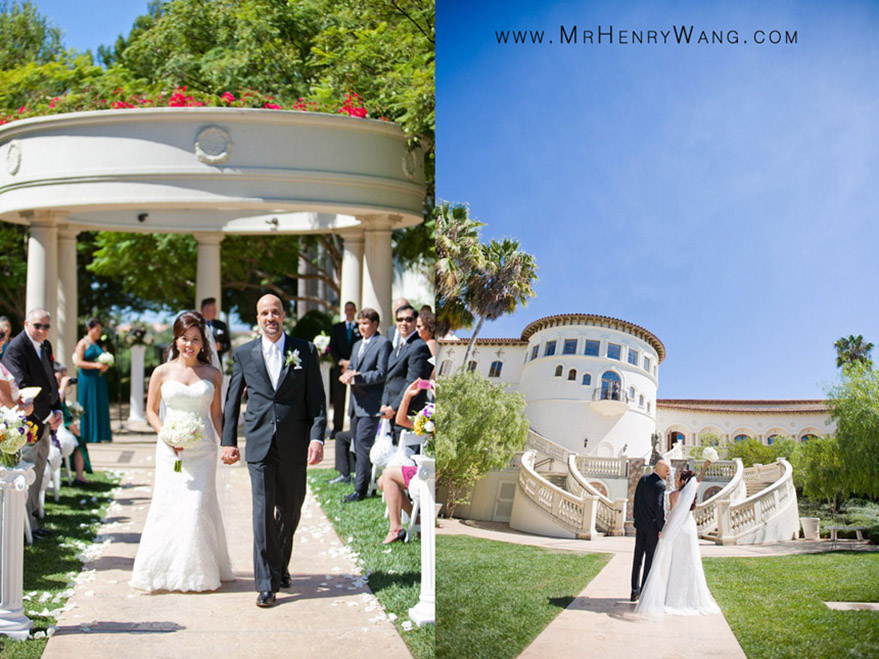St. Regis Monarch Beach Wedding Ceremony and Bridal Portrait Pho