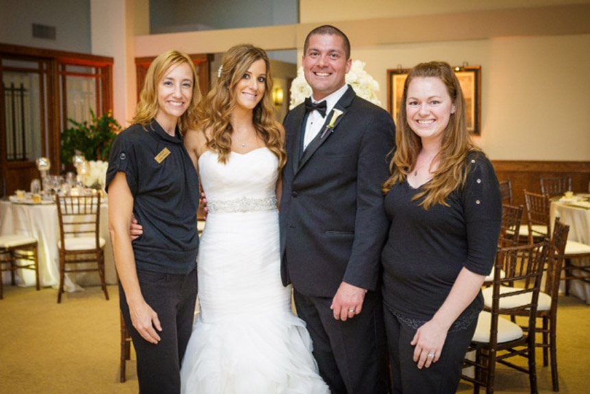 Paige and Trevor's Simply Elegant Wedding