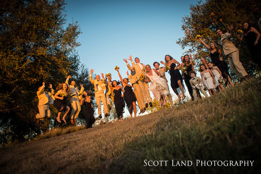Kylie & Andrew's Bright Fall Wedding