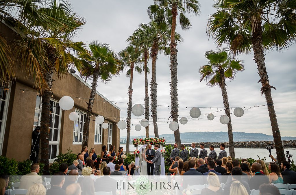 Paige & George's Sweet Harborside Wedding
