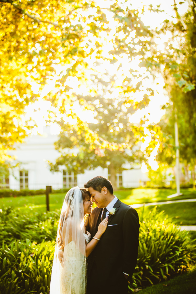Nixon Library Wedding - Eric-Ali ©2014 // Photographed by Pasadena Wedding Photographer Conrad Lim Photography