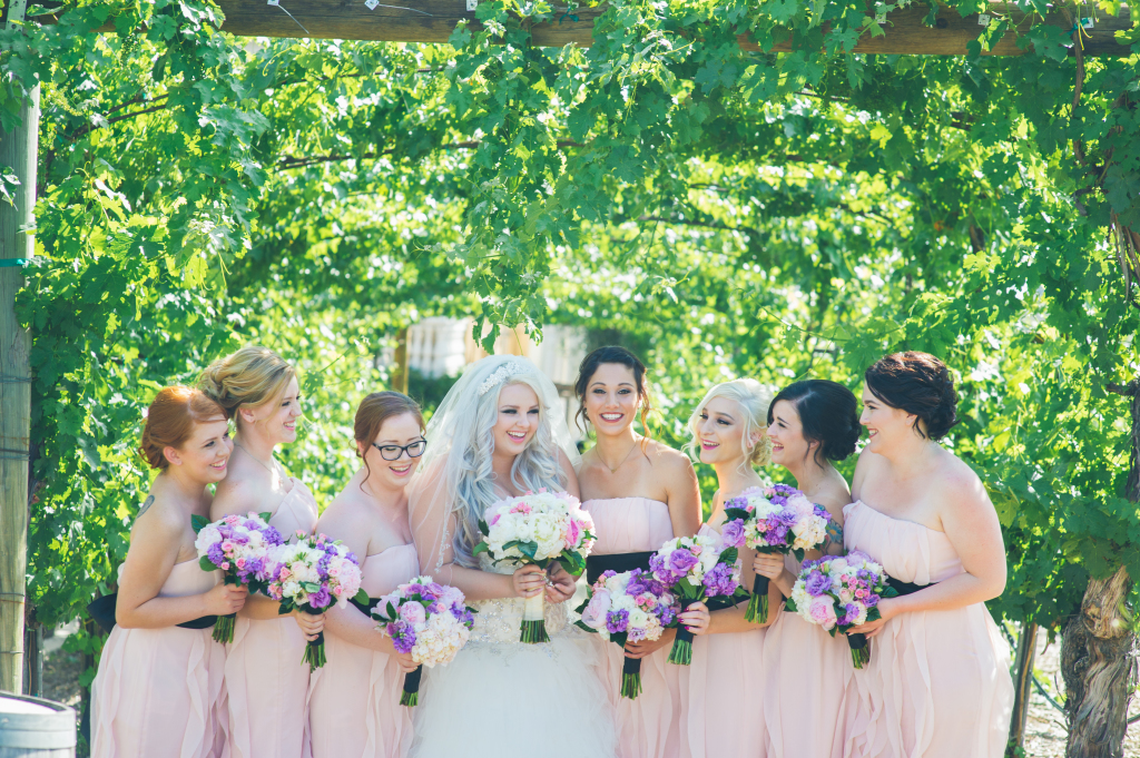 Lauren & David's Beautiful Winery Wedding