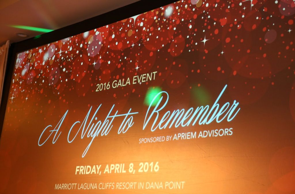 Mission Hills Christian School 2016 Gala – A Night to Remember