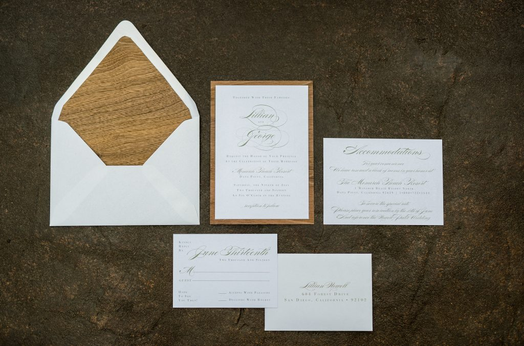 Stationery Shoot: A Sneak Peek at Our Second Styled Ceremony…