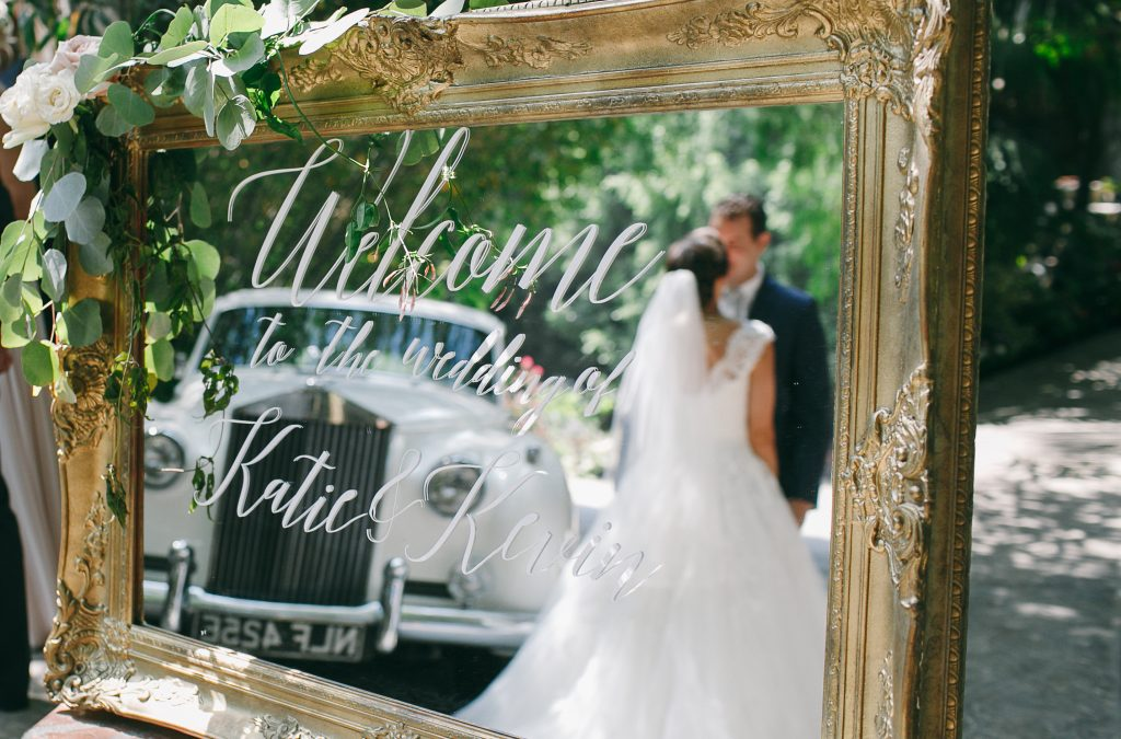 Katie & Kevin's Sweet Garden Wedding