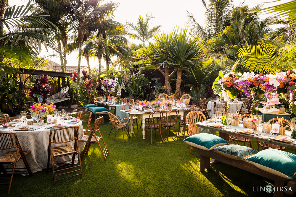 Romantic Tropical Styled Shoot