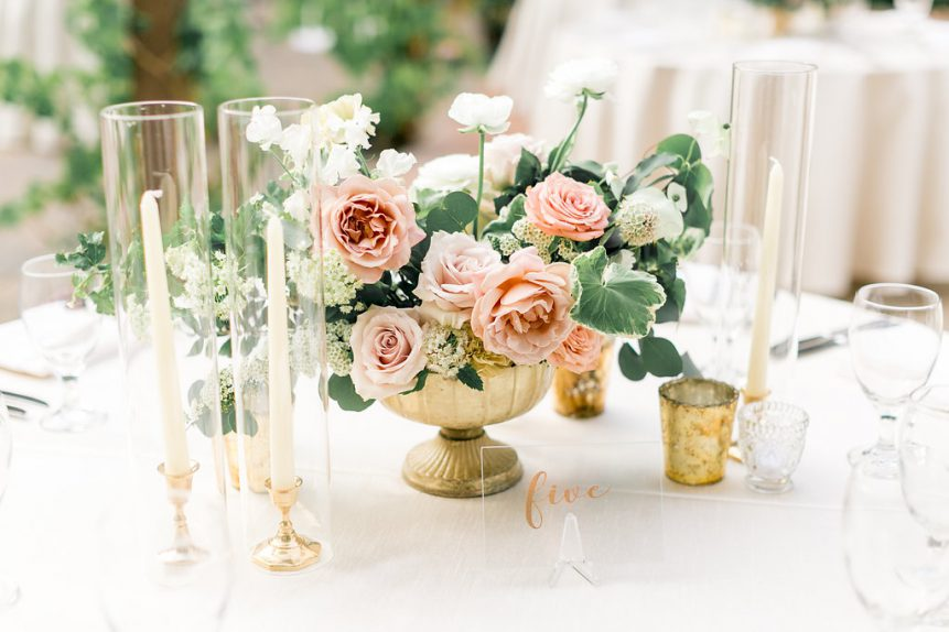 The Loveliest Wedding Table Number Ideas – Orange County Wedding – Wedding Advice