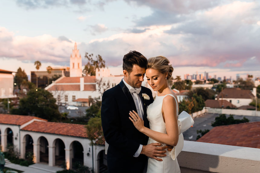 The Ebell of Los Angeles – Los Angeles Wedding – Laura & Raphael
