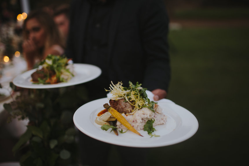 The Pros & Cons of a Plated Meal for Your Wedding